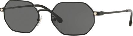 Versace Octagon Metal Sunglasses