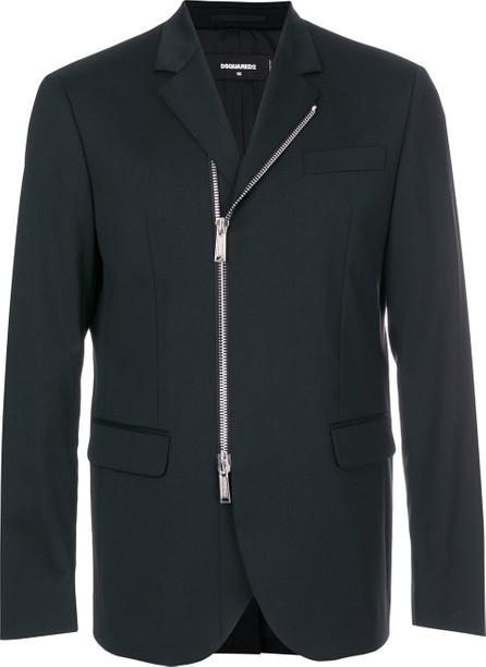 DSQUARED2 slim-fit zipped blazer