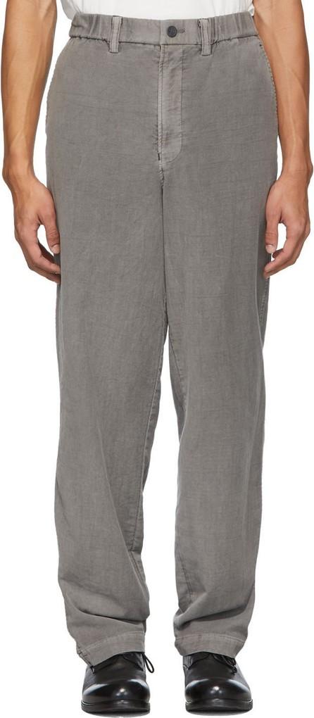 Issey Miyake Men Grey Basic Trousers