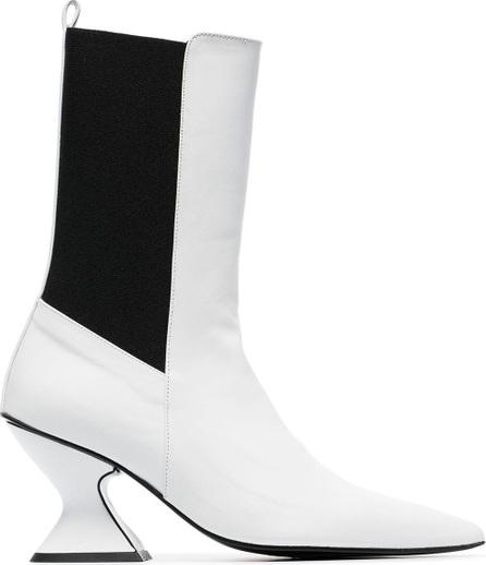 Marques'Almeida Leather mid calf boots