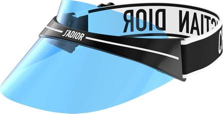 Dior DiorClub1 Transparent Logo Sun Visor