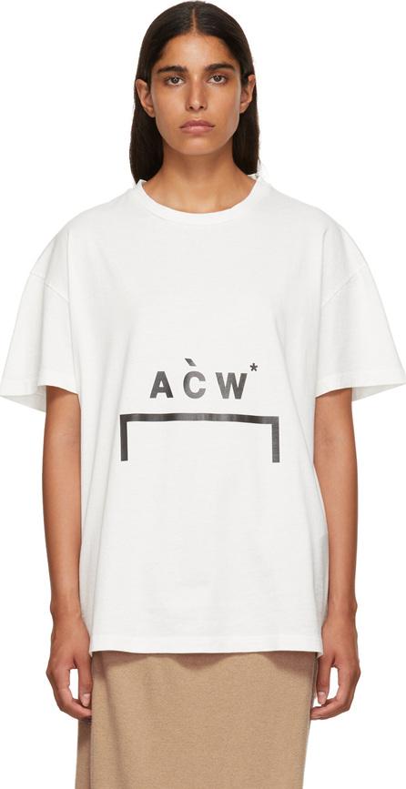 A-Cold-Wall* White Bracket Logo T-Shirt
