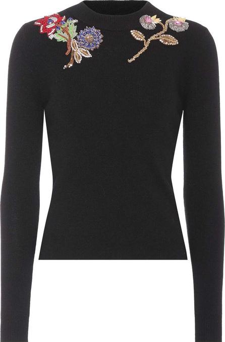 Alexander McQueen Embellished wool sweater