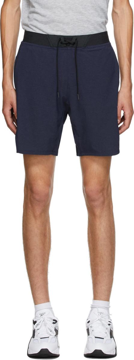 Reebok Navy Textured Epic Shorts