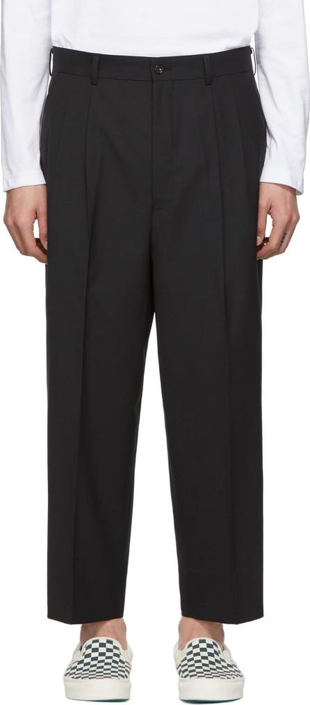 Comme des Garçons Homme Black Tropical Wool Trousers