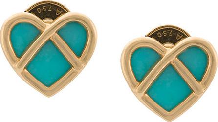 Poiray Heart earrings