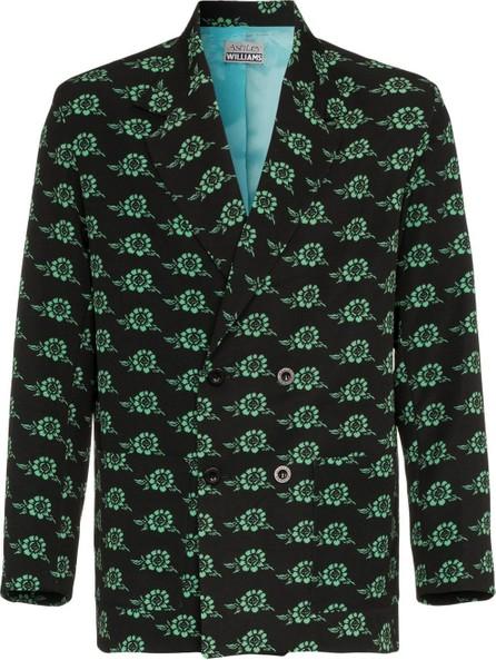 Ashley Williams Rose print executive blazer