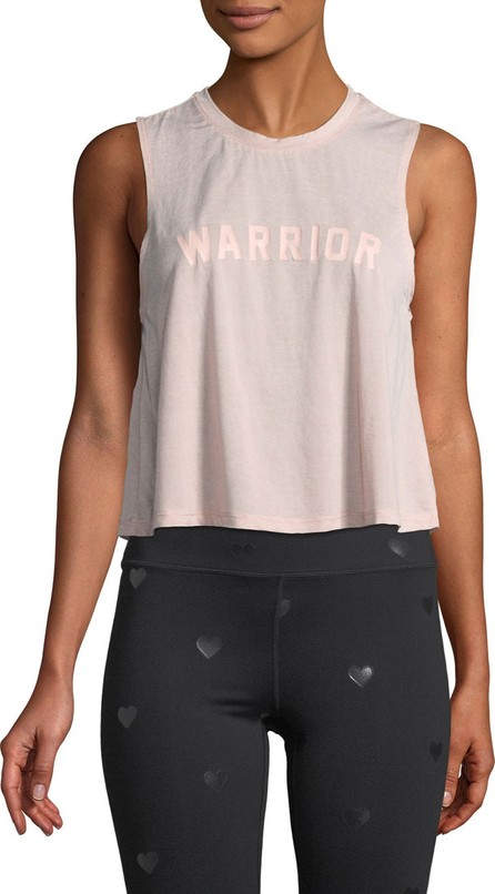 Spiritual Gangster Warrior Cropped Graphic Muscle Tank