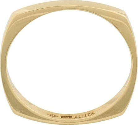 Aliita 9kt gold square ring