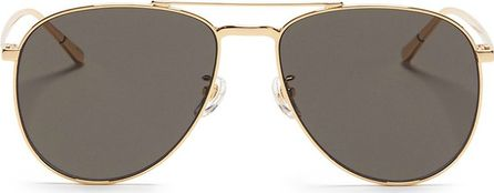 BLANC & ECLARE 'Miami Large' metal aviator sunglasses