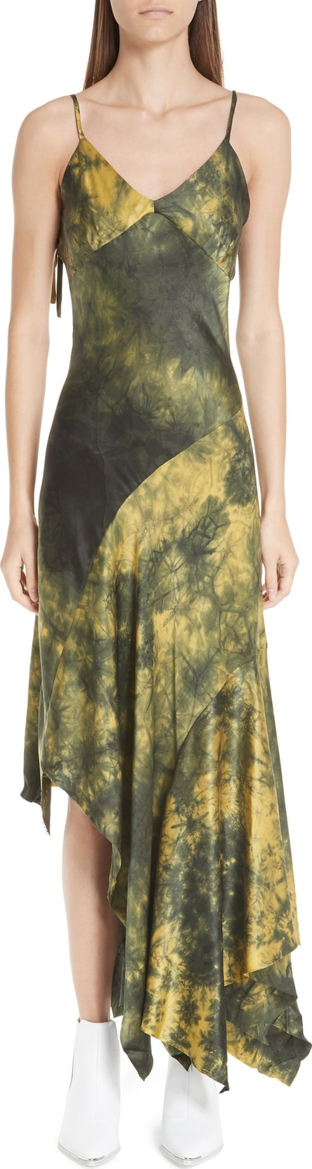 Marques'Almeida Marques'Almeida Tie Dye Silk Dress
