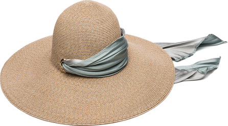 Eugenia Kim Bunny Hemp-Blend Sun Hat with Satin Band