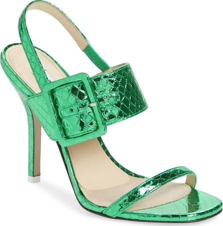 Attico Mariah Buckle Quarter Strap Sandal