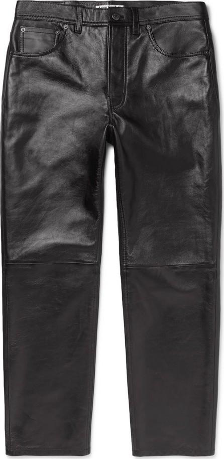 Acne Studios Lancelot Leather Trousers