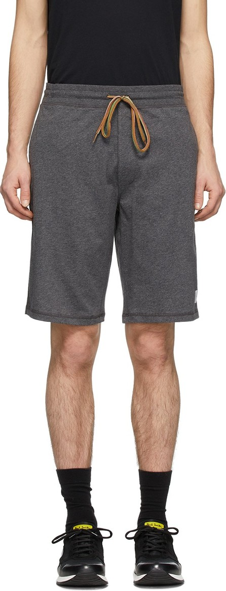 Paul Smith Grey Cotton Jersey Shorts