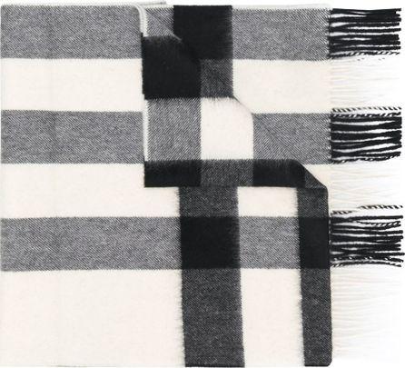 Burberry London England cashmere check scarf