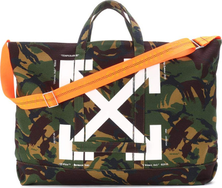 Off White Camouflage tote