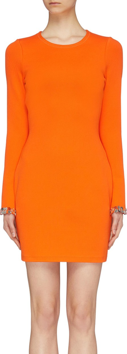 3.1 Phillip Lim Ring paillette cuff mini dress