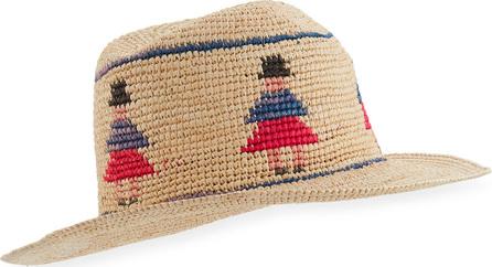 Valdez Panama Hats Cuencana Straw Fedora