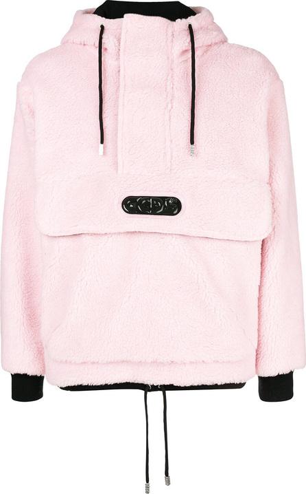 Gcds Fleece hooded sweathshirt