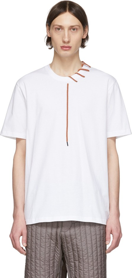 Craig Green SSENSE Exclusive White Laced T-Shirt