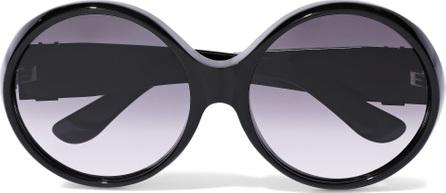 Saint Laurent Round-style acetate sunglasses