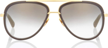 DITA Mach Two 18kt gold-plated sunglasses