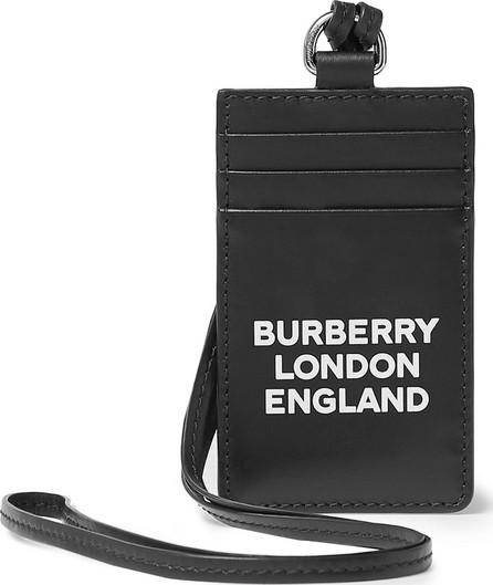 Burberry London England Logo-Print Leather Cardholder