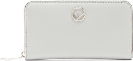 Fendi Logo-embellished continental leather wallet