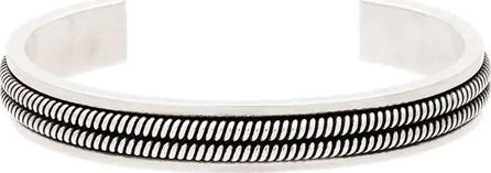 Saint Laurent Folk cuff bracelet