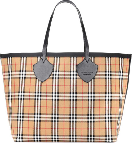 Burberry London England Reversible check shopper