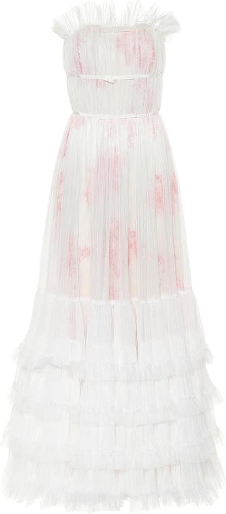 Giambattista Valli Ruffled tulle gown