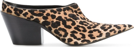 Haider Ackermann Equilieus Point Toe Leopard Print Pumps