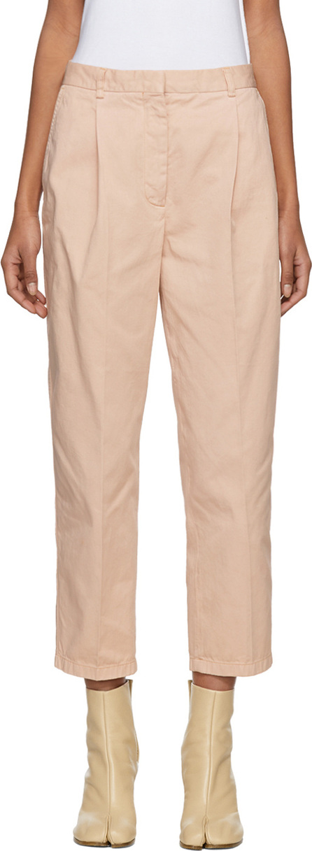 Acne Studios Pink Tabea Co Chino Trousers