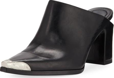 Alexander Wang Su Calf Leather Western Mules