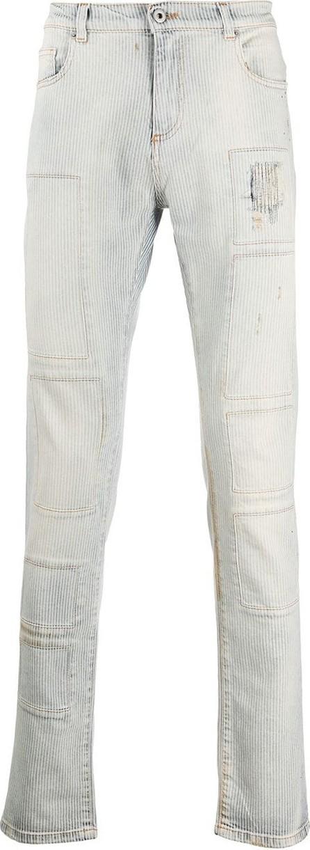 Faith Connexion Slim-fit stonewashed jeans