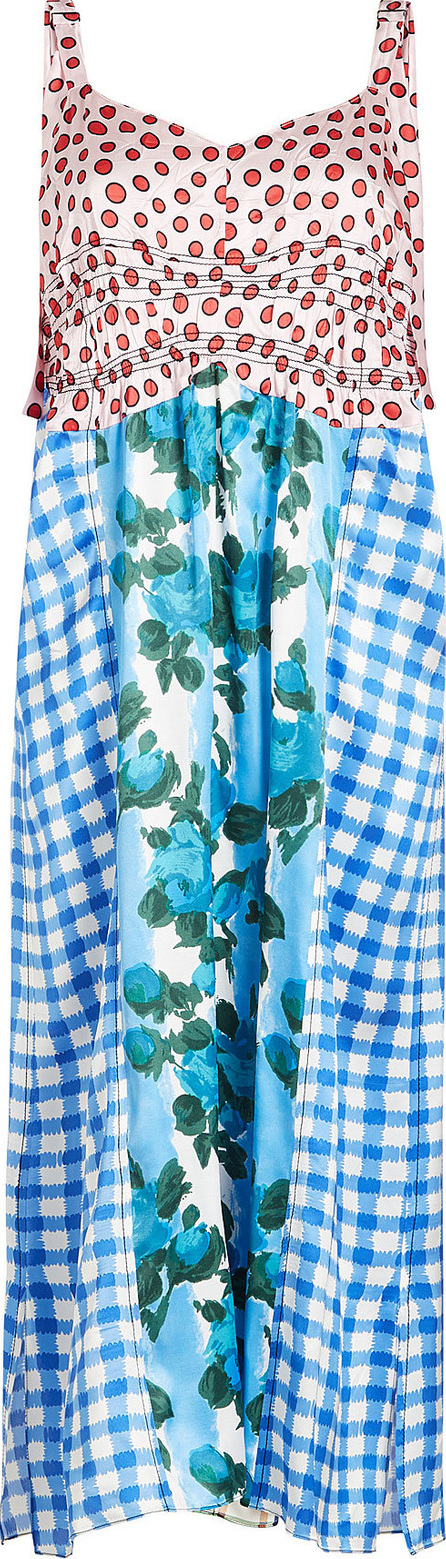 Marni Printed Dress with Silk