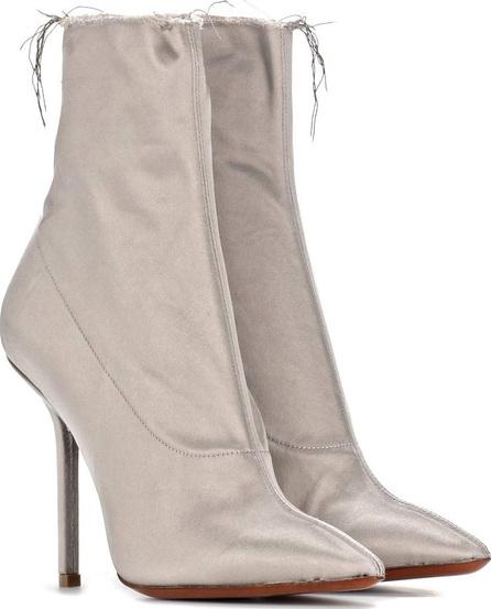 Vetements Satin ankle boots