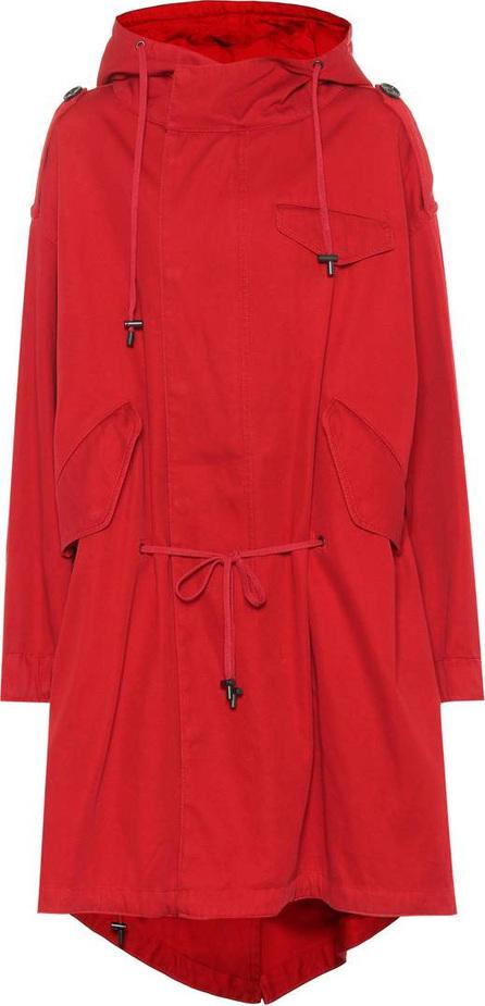 Isabel Marant Etoile Duffy cotton twill coat