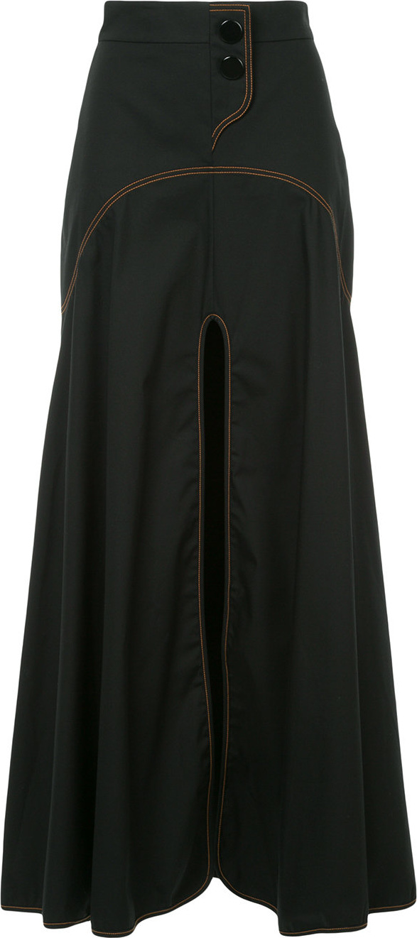 Ellery - Galactica curved yoke skirt