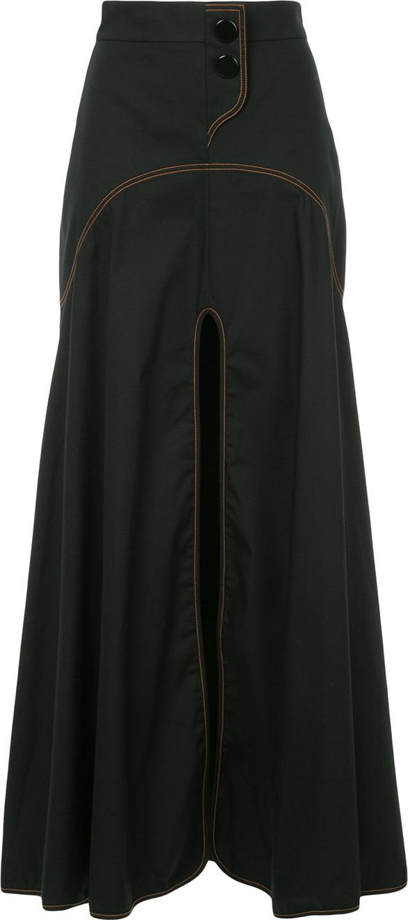 Ellery - Galactica curved yoke skirt