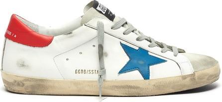 Golden Goose Deluxe Brand 'Superstar' contrast tab leather sneakers