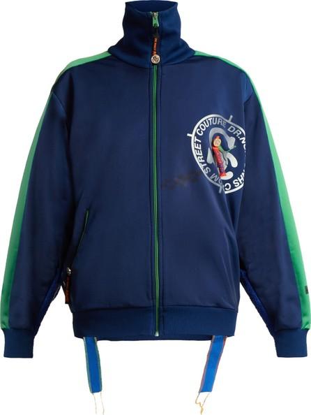 Noki Contrast-stripe track jacket