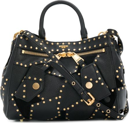 Moschino studded tote