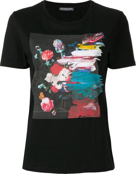 Alexander McQueen Paint print T-shirt
