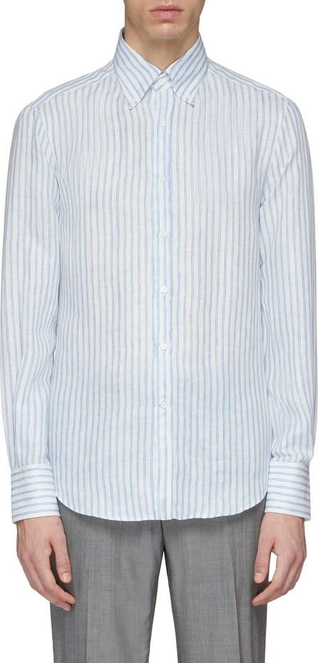 Brunello Cucinelli Stripe linen shirt