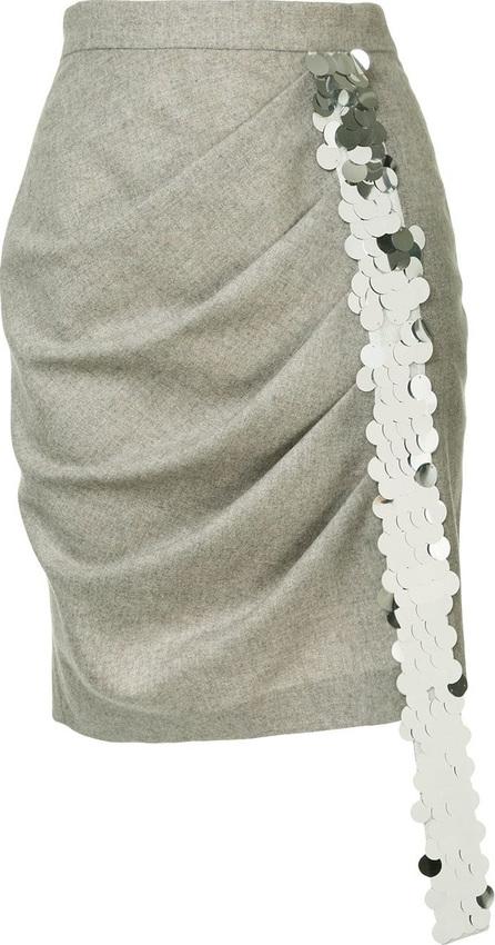 Anouki Pleated mini skirt