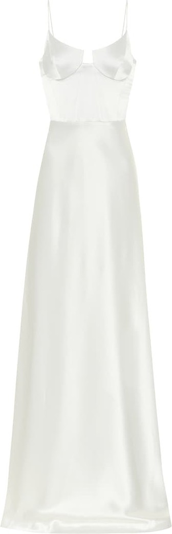 Galvan Palermo satin bridal gown