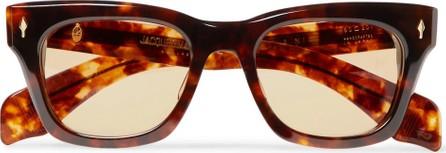 Jacques Marie Mage Dealan D-Frame Tortoiseshell Acetate Sunglasses