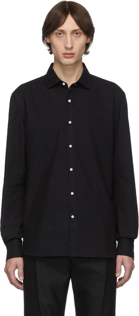 Eidos Black Classic Button-Down Shirt